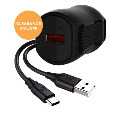 Fast Wall Charger with 1m Type C Charge Cable