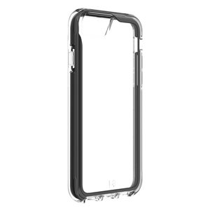 Aspen for iPhone SE, 8, 7, 6s - Clear/ Black