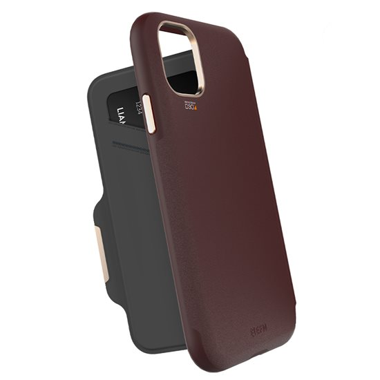Monaco Wallet for iPhone 11 Pro - Mulberry