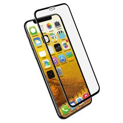 Impact Glass for iPhone XR - Clear/ Black Frame