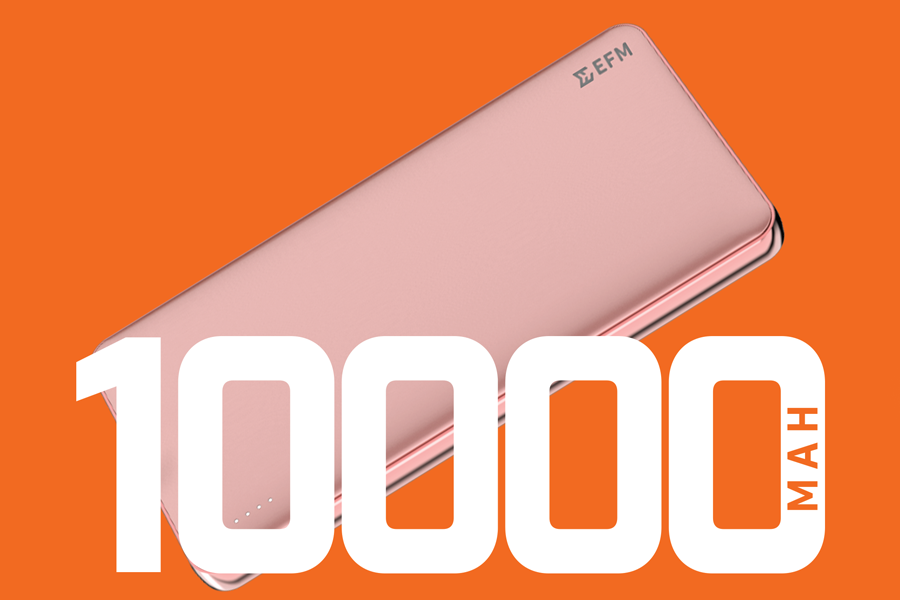 Power Bank - 10,000mAh in Rose Gold